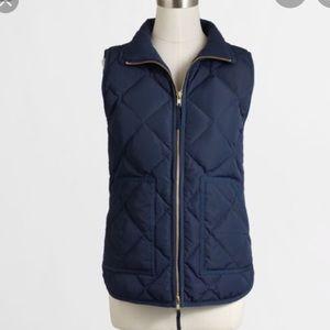 Jcrew Navy Vest XS